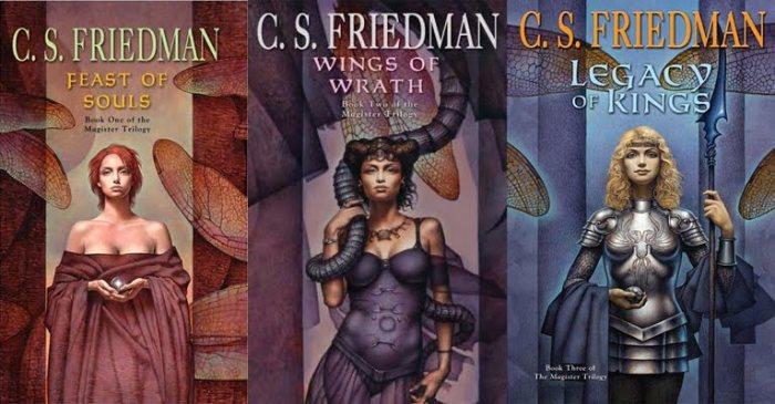 magister trilogy cs friedman feast of souls wings of wrath legacy of kings